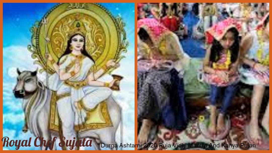 Durga Ashtami 2020 Puja Vidhi Mantra And Kanya Pujan