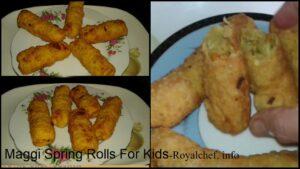 Maggi Spring Rolls For Kids