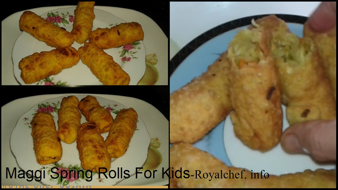 Maggi Spring Rolls For Kids