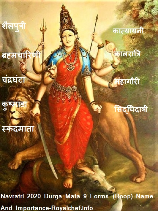 Navratri 2020 Durga Mata 9 Forms (Roop) Name And Importance