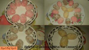 Rice Flour Delicious Mithai For Dessert