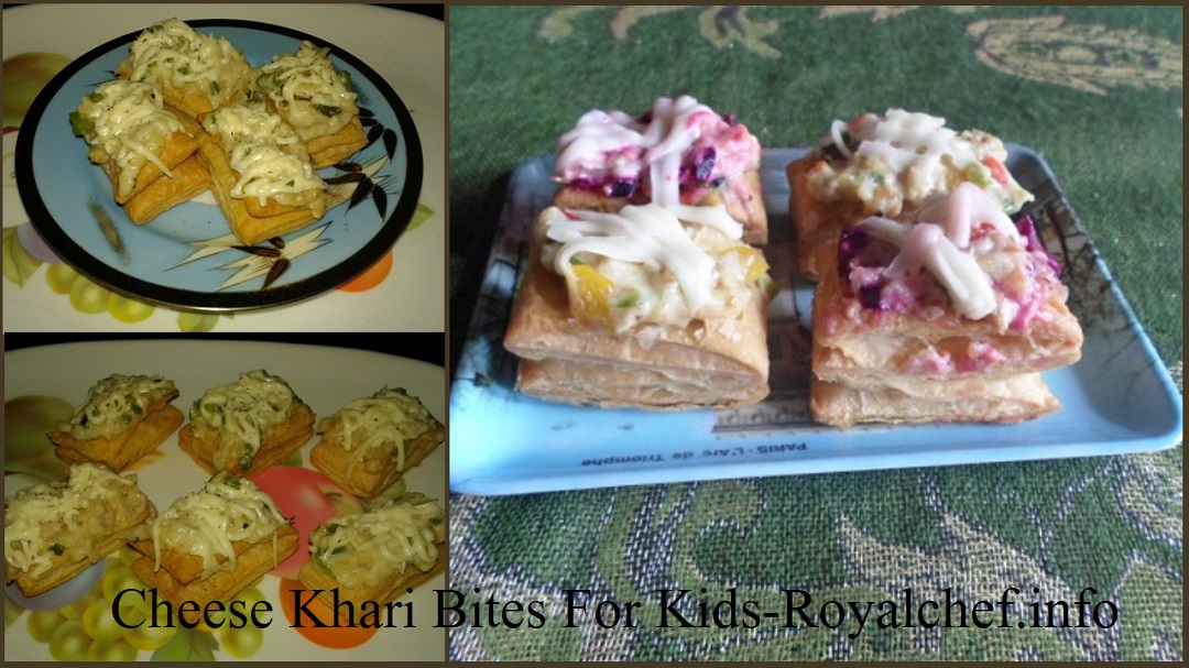 Cheese Khari Bites For Kids
