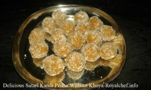 Delicious Kandi Pedha Recipe
