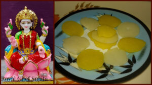 Homemade Zatpat Batasha For Lakshmi Puja