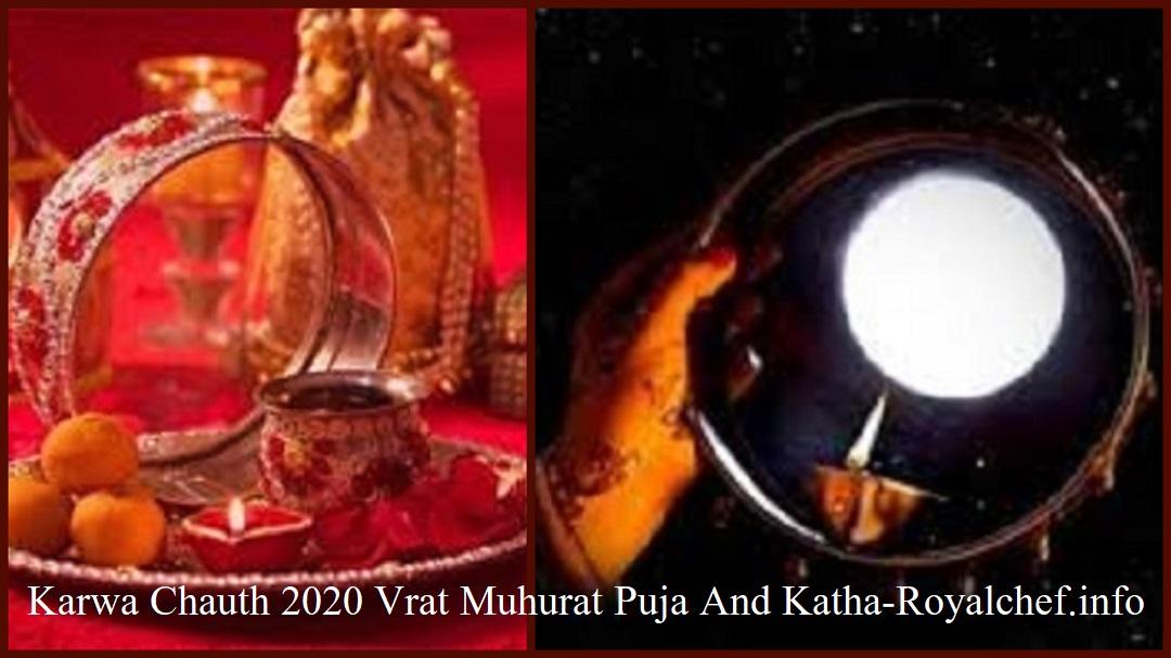 Karwa Chauth 2020 Vrat Muhurat Puja And Katha