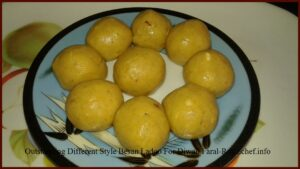 Outstanding Different Style Besan Ladoo For Diwali Faral
