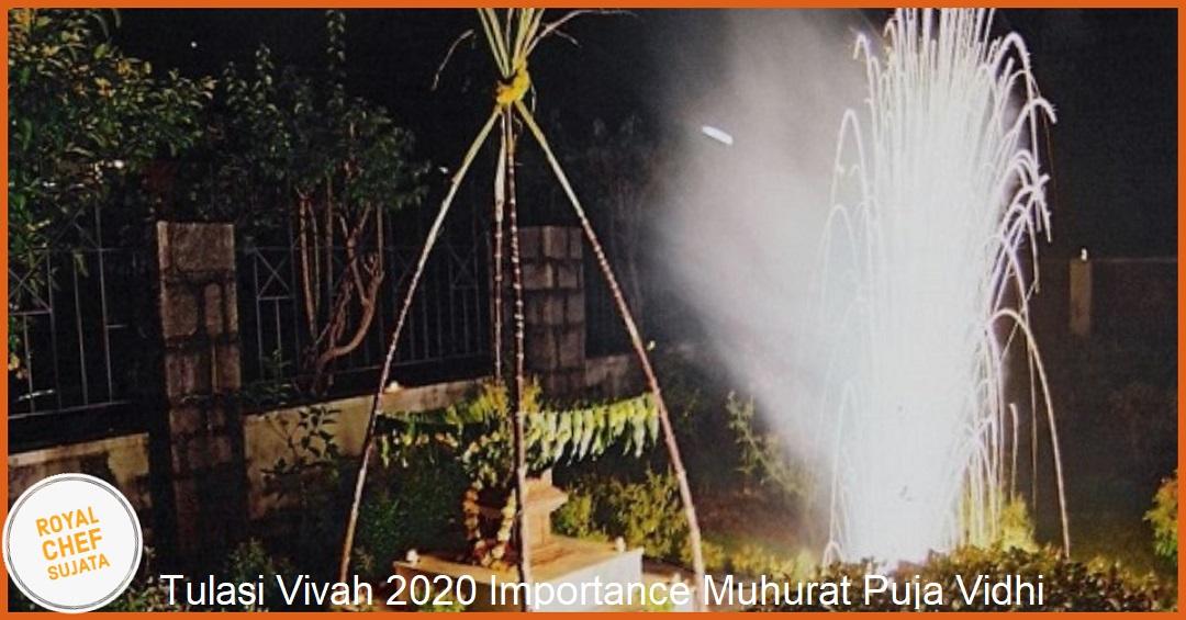 Tulasi Vivah 2020 Importance Muhurat Puja Vidhi