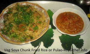 Soya Rice Soya Fried Rice
